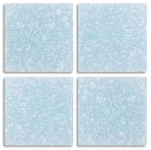 "25 Tiles - 3/4"" BLUE FOG Mosaic Vitreous Craft Glass ***FREE SHIPPING***"