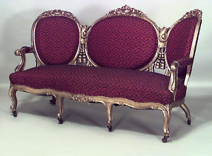french victorian seating gilt