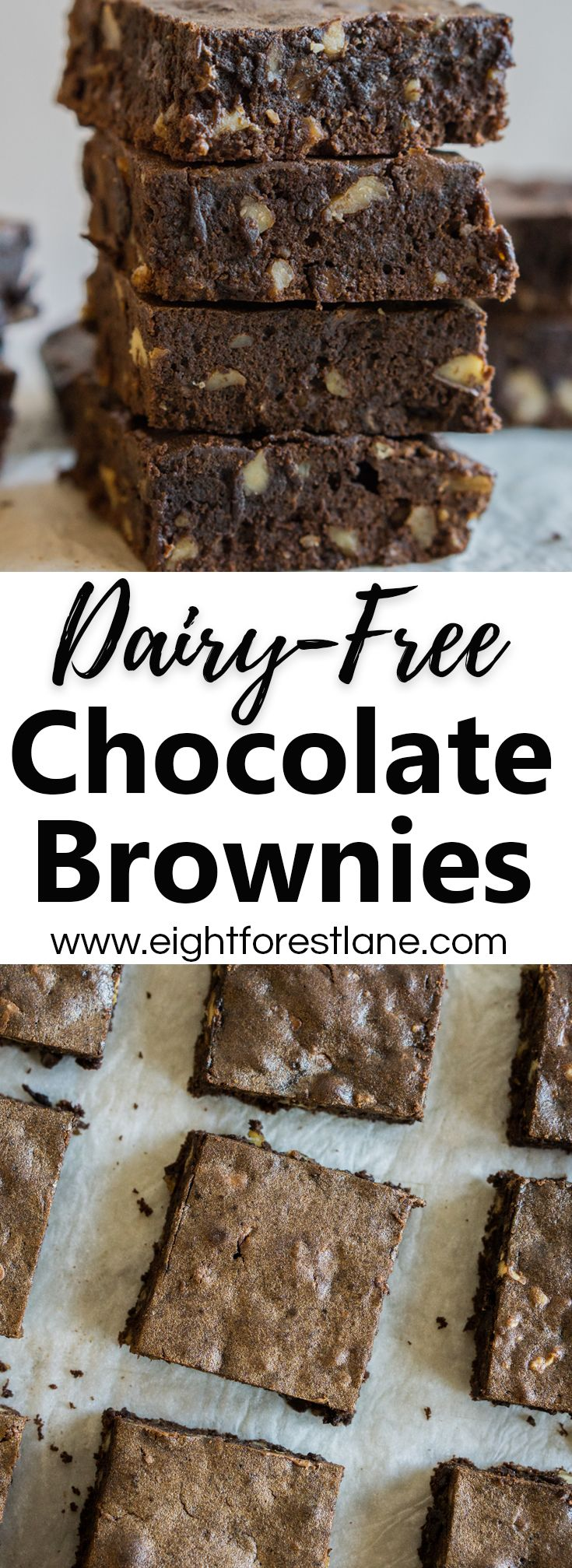 Dairy-Free Classic Chocolate Brownies