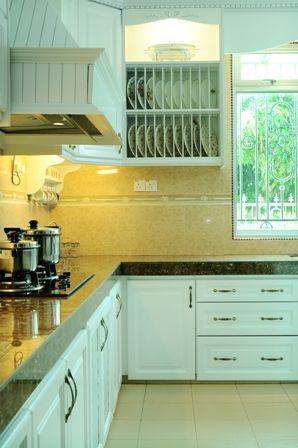 9 Idea Kabinet Dapur Berbentuk L Yang Akan Buat Anda Terpersona Dekor Impiana Kitchen Dining Pinterest And