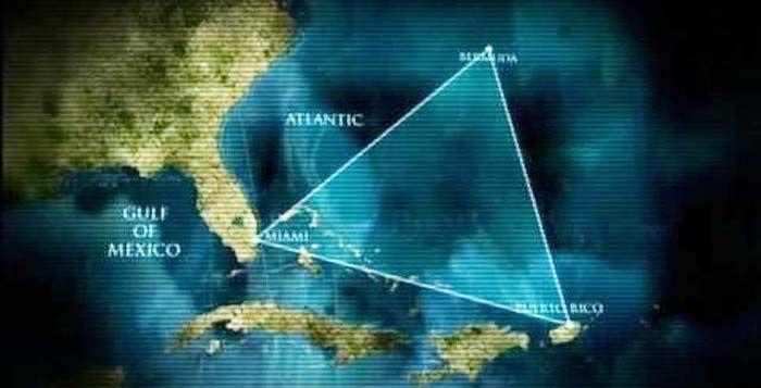 Letak Geografis Segitiga Bermuda