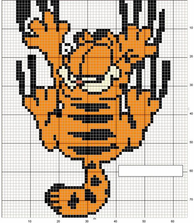 ENCANTOS EM PONTO CRUZ: Garfield