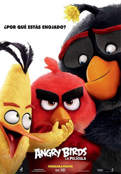 Te invito a ver Angry Birds La películaPOST_PELICULA en UltraHD. Sientate y Disfruta.  Pelicula Angry Birds La película en HD No olvides dejar tu Like y Compartir  DESCARGA DE NUESTROS SERVIDORES COMPLETAMENTE GRATIS  Descubre por qué los Angry Birds están tan enojados. Cuando una isla poblada de aves felices pero que no pueden volar es visitada por unos misteriosos cerdos verdes depende de tres insospechadas aves  Red Chuck y Bomb  descubrir qué es lo que están tramando los cerdos.
