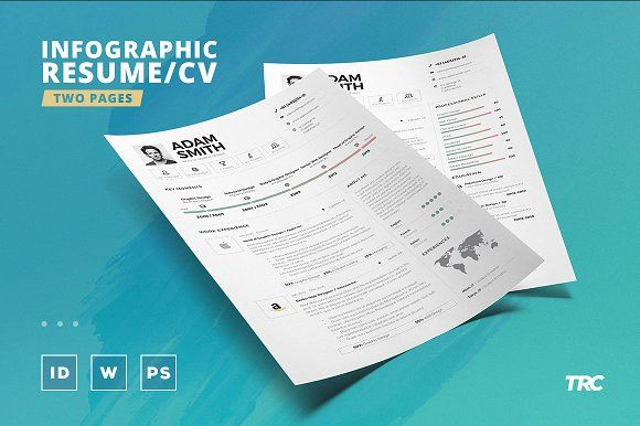 Infographic Resume Cv Template Vol9 by @creativework247 Resume - popular resume fonts