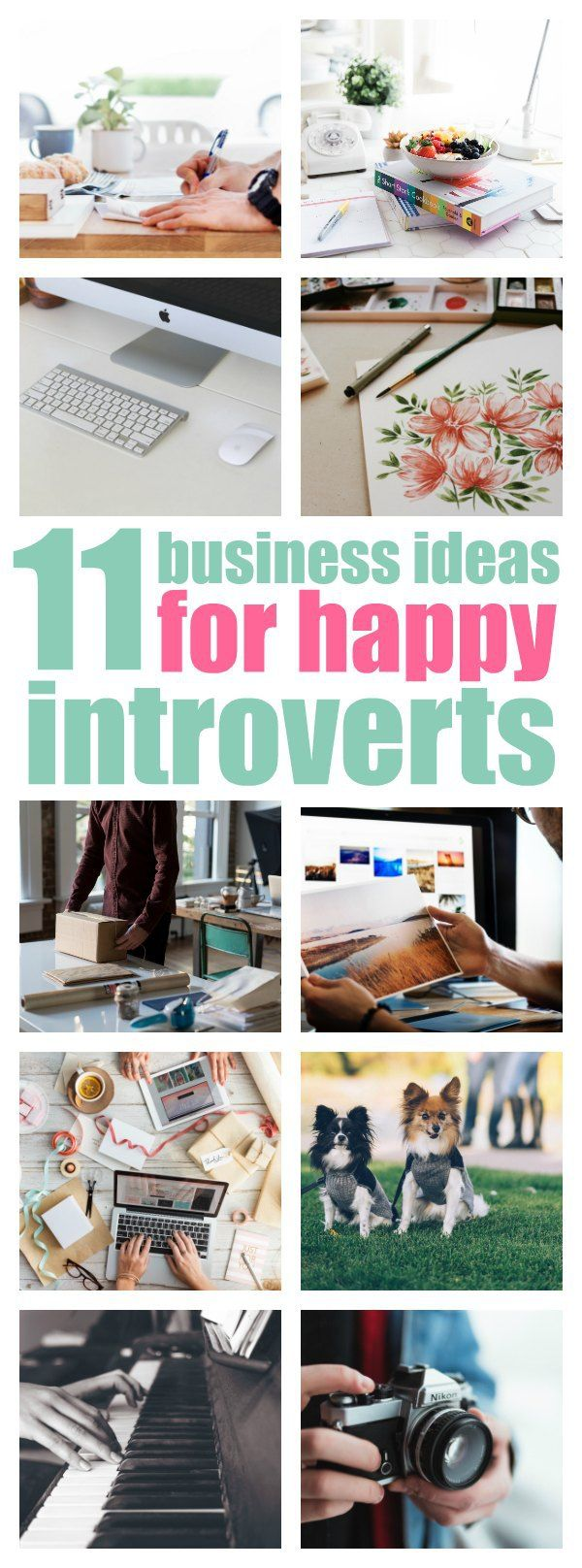 business ideas that will fill an introvert's heart with joy