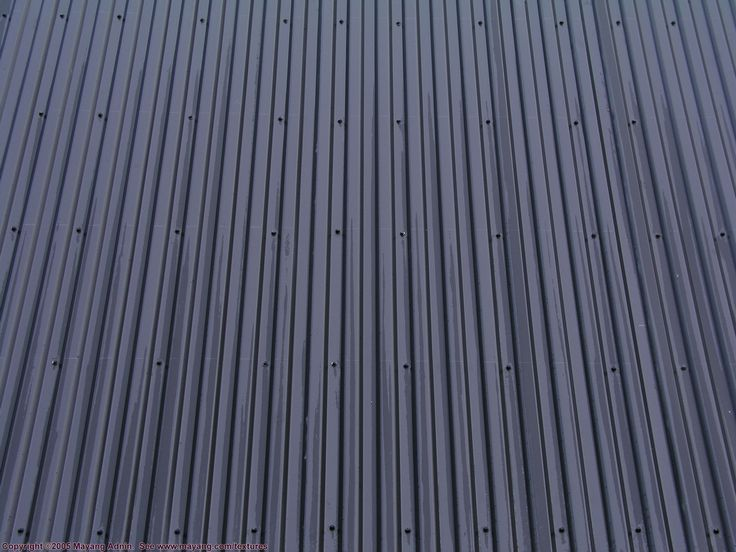 Contemporary metal roofing of corrugated metal for Modern metal roof