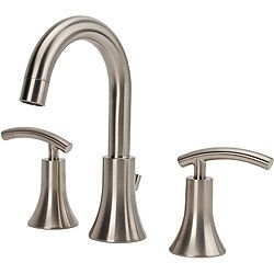 Fontaine Vincennes Brushed Nickel Widespread Bathroom Faucet