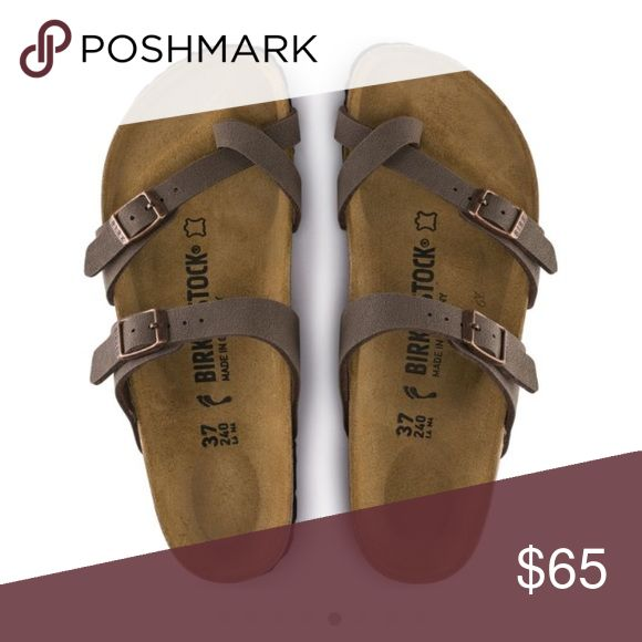 ISO: Size 8 Birkenstocks I found an earlier post, but the prices were too much for a used pair. Mind you, new ones go for $95  I fell in love with these, but can't find to find a reasonable price. Would like to find a tan or a brown pair. Would like to buy ASAP. Birkenstock Shoes Sandals