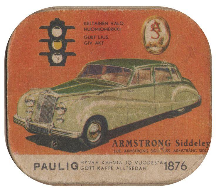 En nostalgitripp fram till jul med hjälp av Pauligs bilkort från mitten av 1900-talet. Armstrong Siddeley #cars #vintage