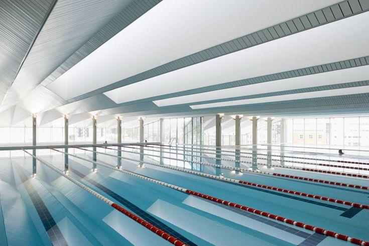 Gallery - Swimming Pools For Vigo University / Francisco Mangado - 4