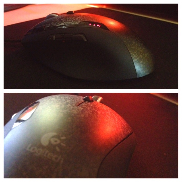 Logitech G500 Gaming Mouse. Amazing little rodent :)
