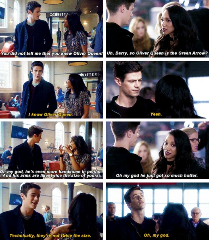 #1x08 // #3x08 He's on my three list. - #TheFlash - Crossover Part 1