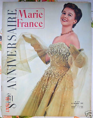 Marie France 415 NOV 52 LE 8ÈME Anniversaire DE MF  