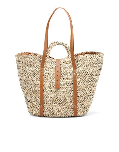 1000  images about Beach Bags on Pinterest | Straw tote, Beach ...