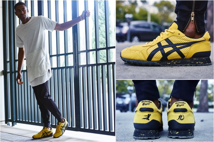 BAIT Onitsuka Tiger BRUCE LEE Limited Ed 000/400 YELLOW