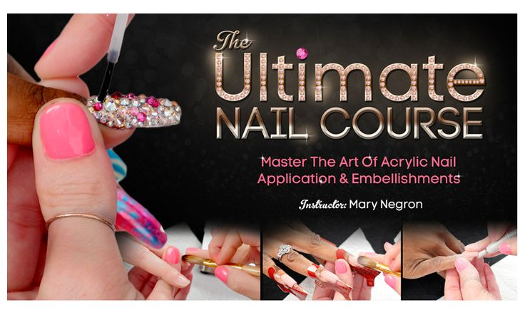 The Ultimate Nail Course DVD HARDCOPY