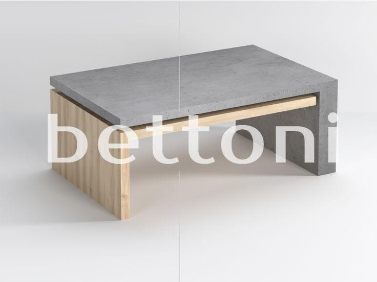 Meble z betonu architektonicznego - Bettoni