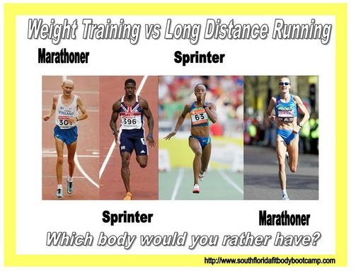 If weight loss is your goal... do you still think running all day long is going to get you there? South Florida Fit Body Boot Camp in Deerfield Beach... come check us out!  (The Deerfield Beach Personal Trainer... South Florida Personal training gym for Margate, Coral Springs, Lighthouse Point, Pompano Beach, Boca Raton, Deerfield Beach Florida - http://www.southfloridafitbodybootcamp.com)