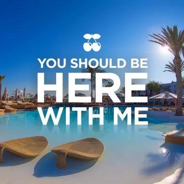 IBIZA - resort/restaurant/pool - Destino Pacha Ibiza Resort - drinks by the pool