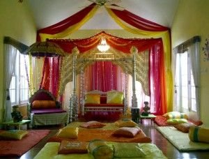 The 39 best images about dholki decor on pinterest for Sangeet decorations at home