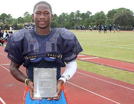 Land Rover Palm Beach Player Of The Week:   Name: Johnnie Dixon School: Dwyer High School Sport: Football Position: Wide Receiver Number: 1 #LandRoverPalmBeach #LandRover #RangeRover http://www.landroverpalmbeach.com/