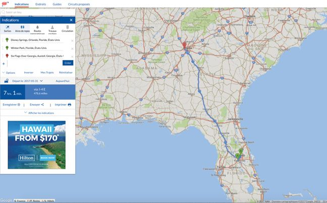 AAA TripTik Travel Planner- Maps, Directions, Guides and Discounts