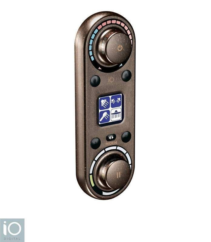 Moen TS3420 Thermostatic Digital Control Unit With LCD Display From The  IoDIGITA Oil Rubbed Bronze Faucet