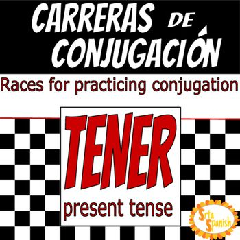 Did your teacher ever do the multiplication practice sheets? Timed to see how many you could do or remember? Enter Carreras de Conjugacin! Print and cut apart. Give your students a minute to correctly conjugate as many verbs on their sheet as they can!