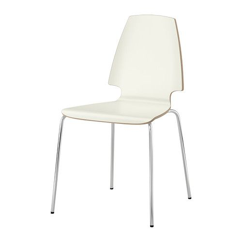 VILMAR Chair IKEA The chair's melamine surface makes it durable and easy to keep clean.  New chairs for the conference room?