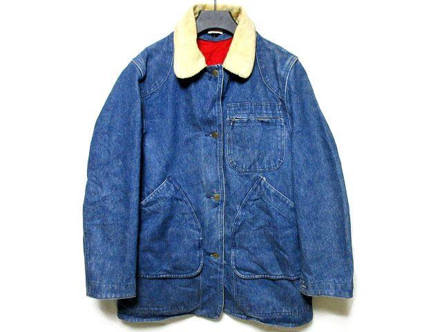 ブランド、ビンテージアイテム1円より多数出品中 ビンテージ、L.L.Beanのカバーオール、デニムジャケットです。 ショップでは高額販売されるMADE IN U.S.A.のアイテム、 裏地ライナー付きで防寒性に優れ、着脱可能なため、 幅広いスタイル、シーズンに着用可能なジャケットです。 ビンテージ、USEDのため使用感はございますが、 着用、デザイン性に問題はございません。 古着特有の存在感、雰囲気あるアイテム、 個人的には気にならず着用に支障ないものですが、 右袖内側のライナー用ボタン一個欠損あり...
