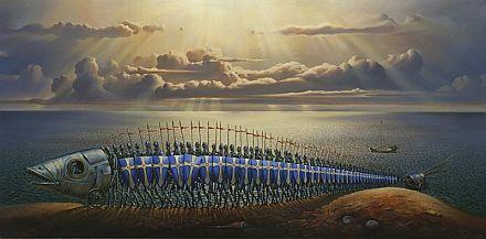 Crusaders~Vladimir Kush