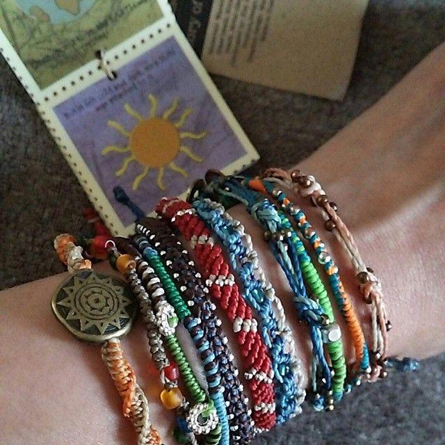 Earth Bracelet från #Wakami - Look good. Do good.