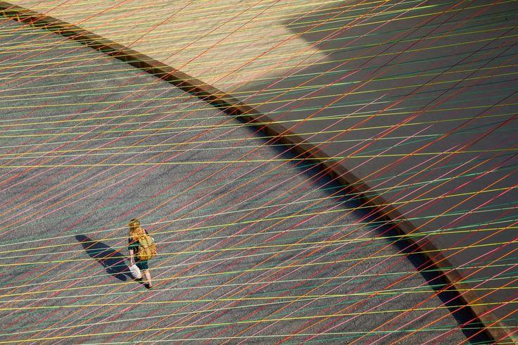 Gallery of MoMA PS1 YAP 2016 - Weaving the Courtyard / Escobedo Soliz Studio - 5