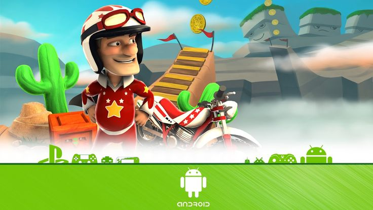 Joe Danger - First Look (Android Gameplay)