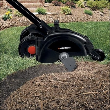 black decker le750 edge hog 2 1 4 hp electric landscape edger patio lawn. Black Bedroom Furniture Sets. Home Design Ideas