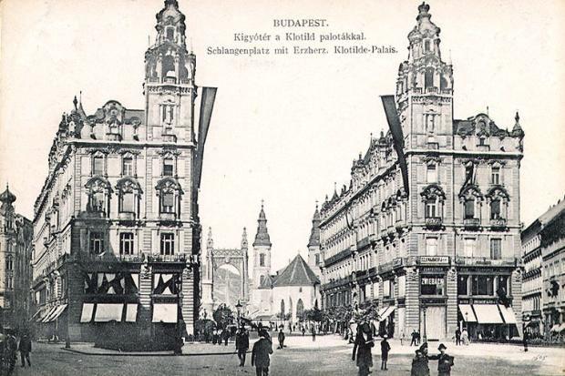 Vintage Postcard, Budapest, Hungary