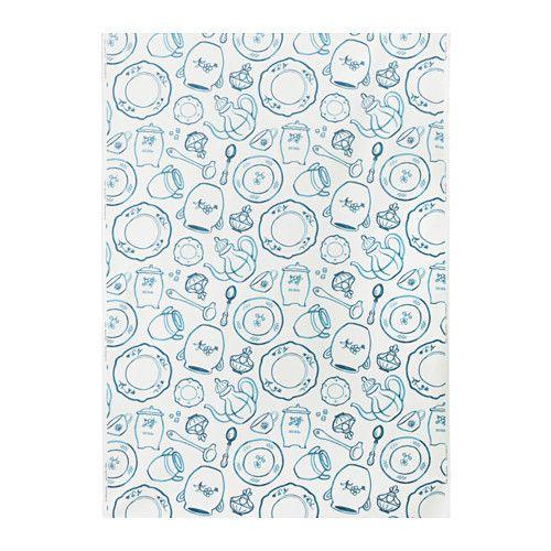 IKEA - PIRJO, Fabric cute kitchen curtians or table cloth