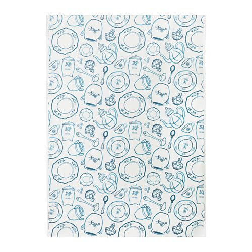 "PIRJO Fabric IKEA; 100% cotton; 59"" wide; machine wash/dry; 4% shrinkage; $5.00 yd"