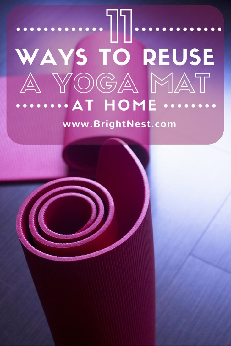 11 ways to reuse a yoga mat at home news us posts and home