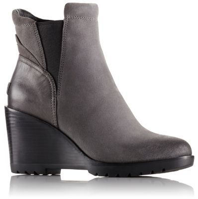 Women's After Hours Leather Or Suede Chelsea Wedge Boot | SOREL