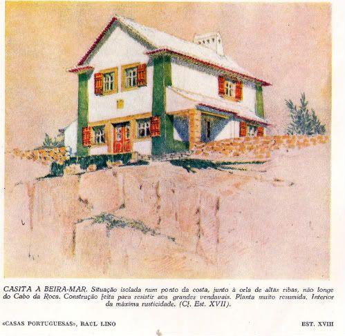 casa branca, Azenhas do Mar, (raul lino)