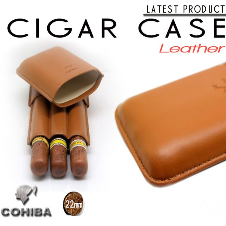 New 1pcs Cohiba Cigar humidor cigar case portable Travel 3 tube Smoking Gadget Accessories //Price: $29.59 & FREE Shipping //     #hashtag2