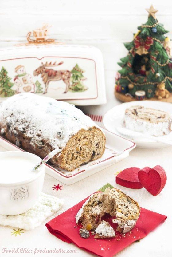 Stollen (Pan de Navidad-Alemania)