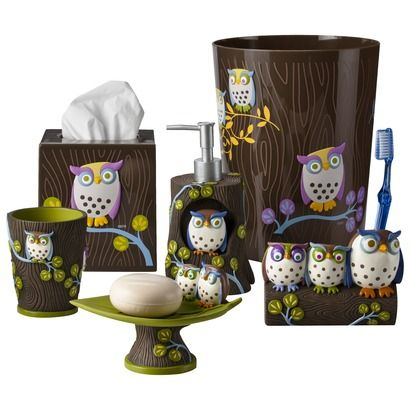 Awesome Owls Bath Coordinates Collections | Target