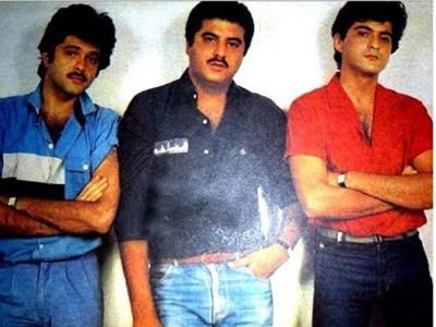 Sonam shares a priceless throwback picture of dad Anil with Sanjay and Boney Kapoor