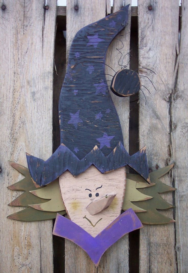 images for woodworking patterns for fall   Scary Witch Wood Craft Pattern for Fall & by KaylasKornerDesigns
