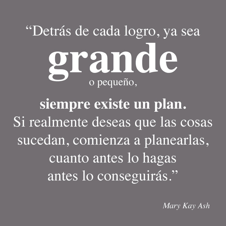 Palabras inspiradoras de Mary Kay Ash.