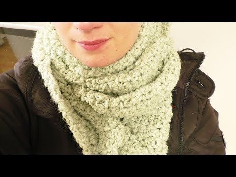 Häkeln In Strick Optik Caron Cake Wolle Einfache Schal Anleitung