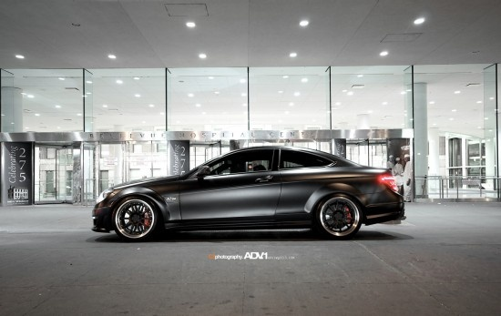 Mercedes C63 AMG Coupe with ADV.1 Wheels
