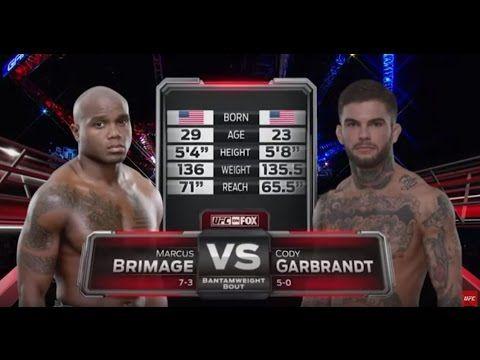 """Full Fight: Cody """"No Love"""" Garbrandt KOs Marcus Brimage In Last Minute — Watch!"""